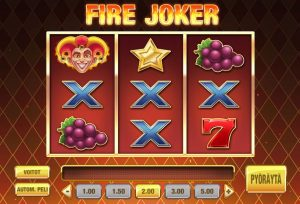 Fire Joker -hedelmäpeli