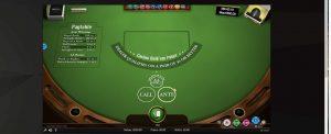 Texas Holdem pöytäpelinä